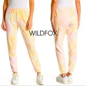 Wildfox cotton candy jogger,NWT, small